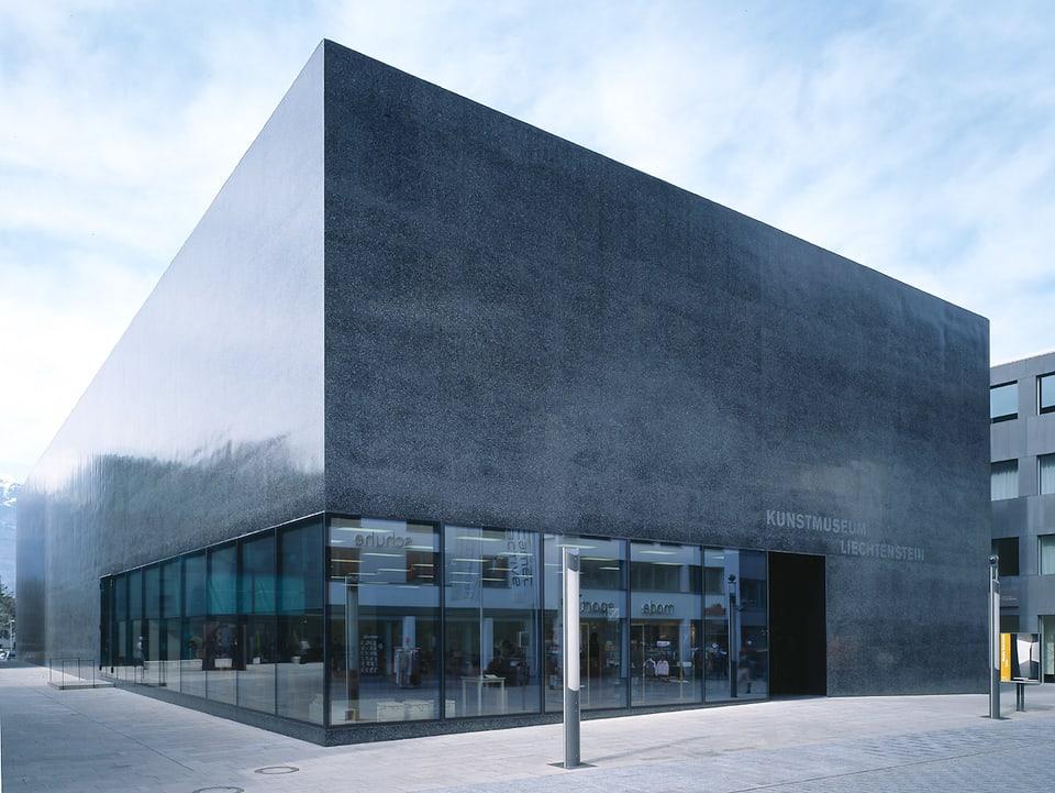 Das preisgekrönte Kunstmuseum in Vaduz.