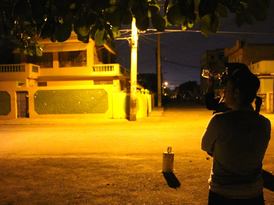 Kingston in der Nacht