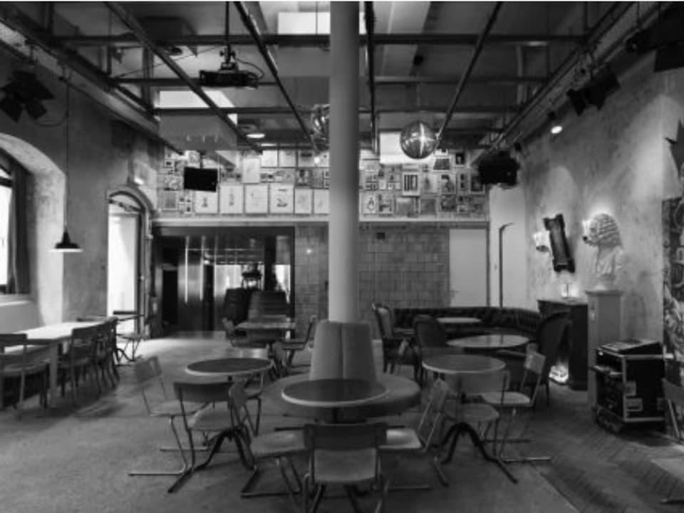 En questa stanza dal Cabaret Voltaire è il DADA naschì il favrer 1916.