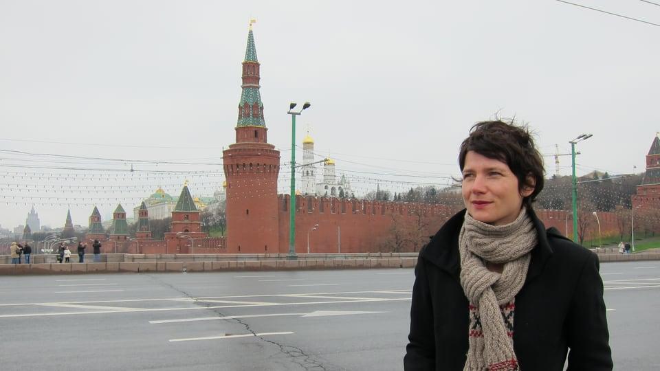 Kathrin Winzenried in Moskau