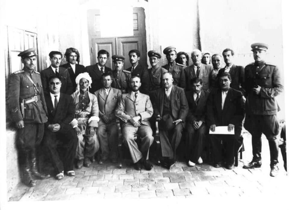 Anführer der «Republik Kurdistan»