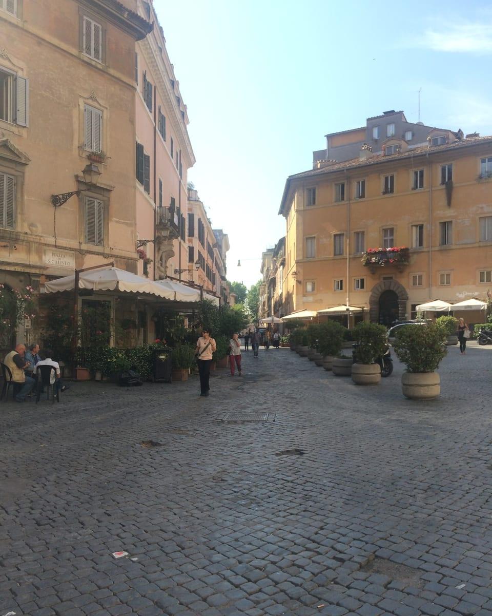 Scharmant e fitg simpatic – il quartier da Trastevere. In pitschen vitg en la gronda citad da Roma