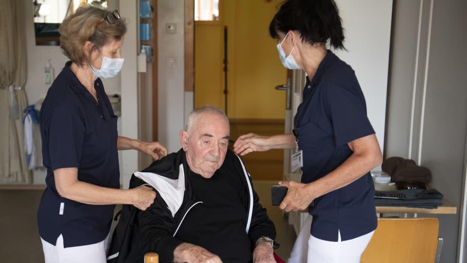 Wie lange leben menschen durchschnittlich im altersheim