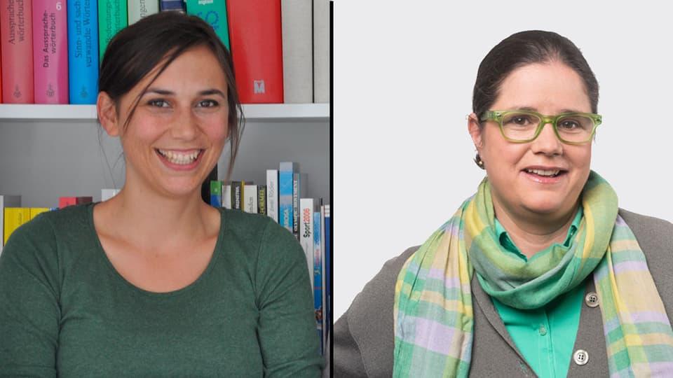 Silvana Derungs ed Esther Krättli.