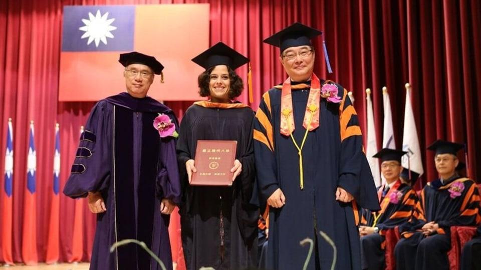 A Taiwan ha Angela Collenberg era fatg in master en il sectur da tgira