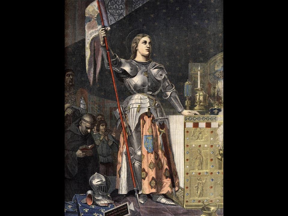 Gemälde der französischen Nationalheldin