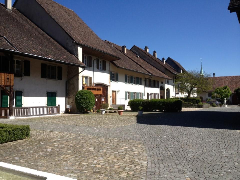 In der Wiedlisbacher Altstadt gibt es wunderschöne Flecken um zu wohnen.
