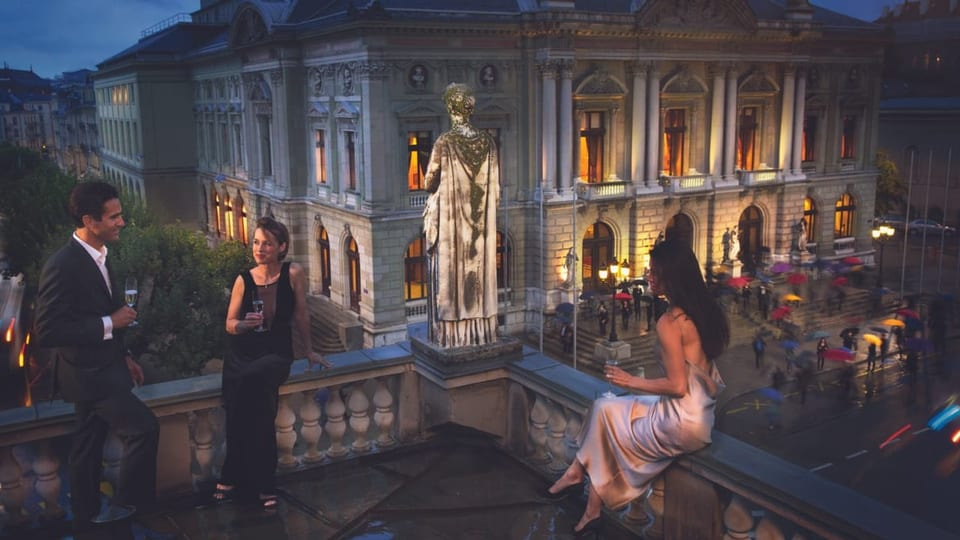 Das Opernhaus Genf