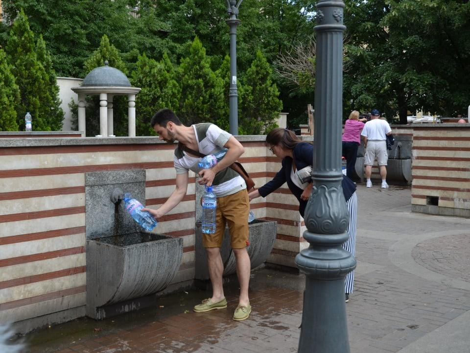Wasser direkt ab Quelle