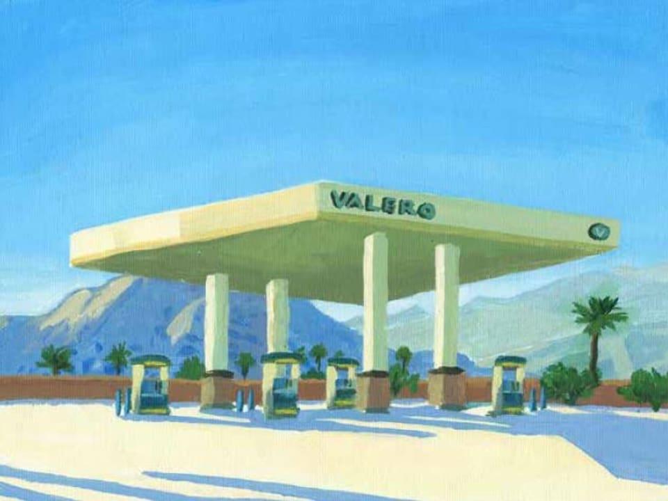 """""""Valero"""" - ovra da Marina Lutz malegiada durant ses temp en California"""
