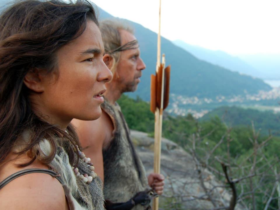 Wilde Vorfahren: Steinzeitmenschen jagten und verehrten wilde Tiere gleichzeitig.