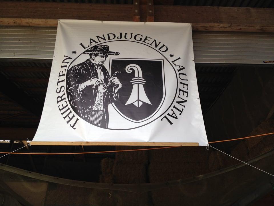 Die Landjugend zeigt Flagge. Auf dem Sonnenhof in Brislach BL.