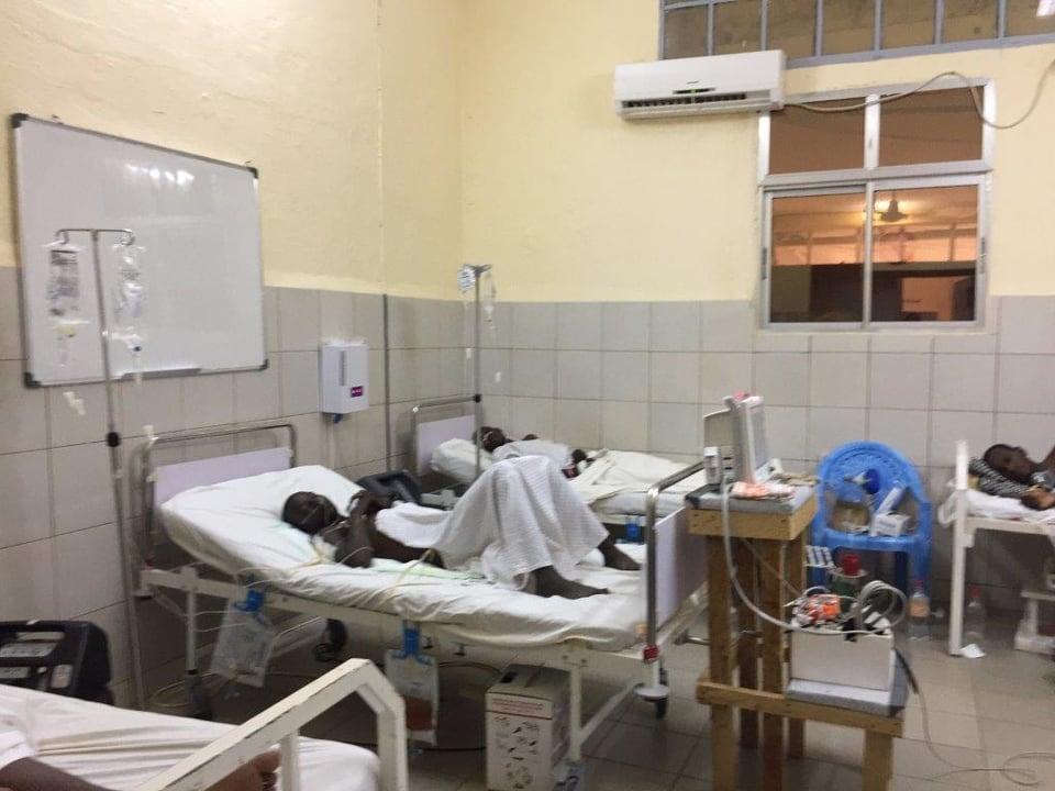 Die Intensivstation im Regionalspital Maroua im Norden Kameruns.