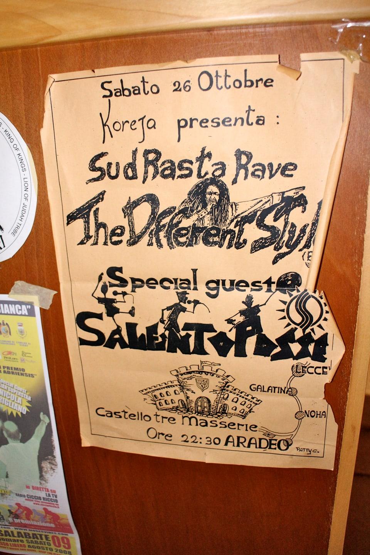20 Jahre alt: eine der ersten Reggae Parties im Süden Italiens fand 1993 statt.