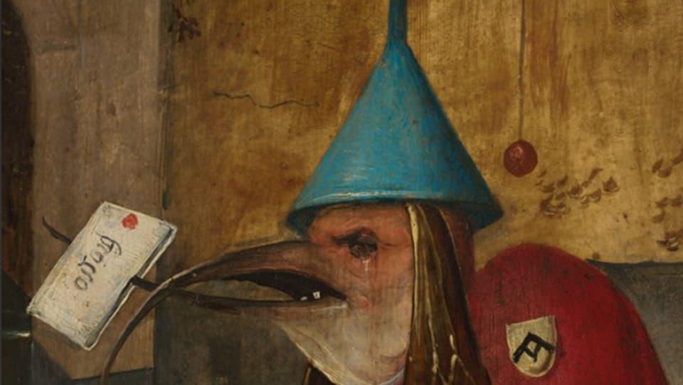 Part dal tripticon da «Versuchung des Heiligen Antonius» da Hieronymus Dosch.