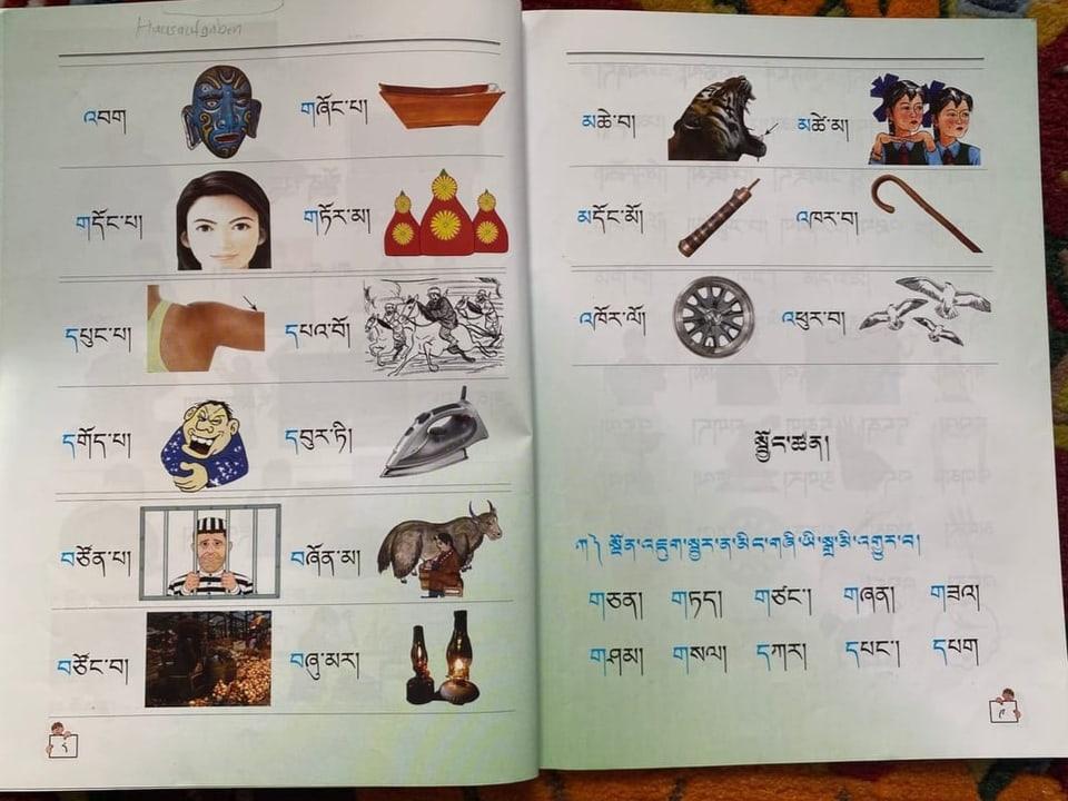 Die Schulbücher