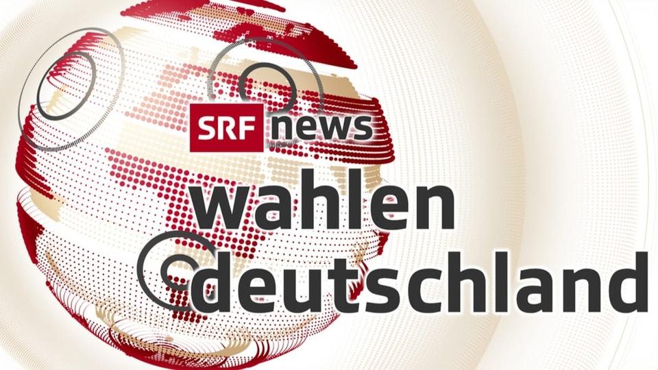 Die Bundestagswahl bei SRF