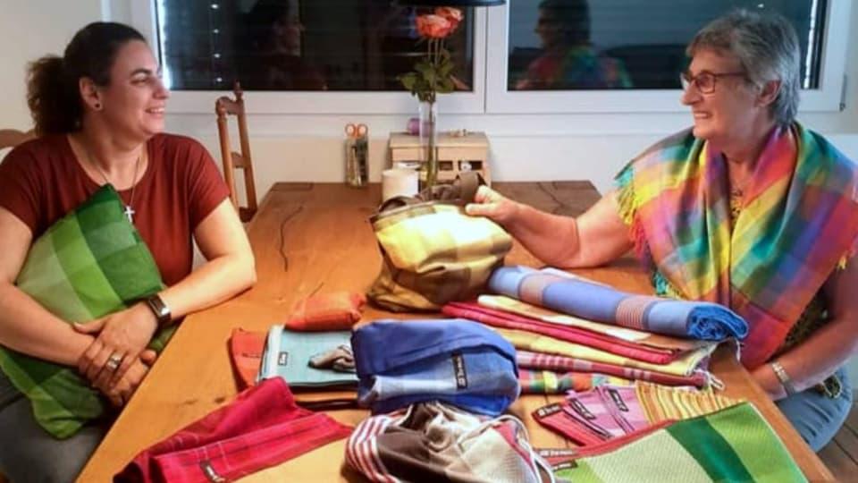 Barla e Cilgia Jacomet han in hobi communabel