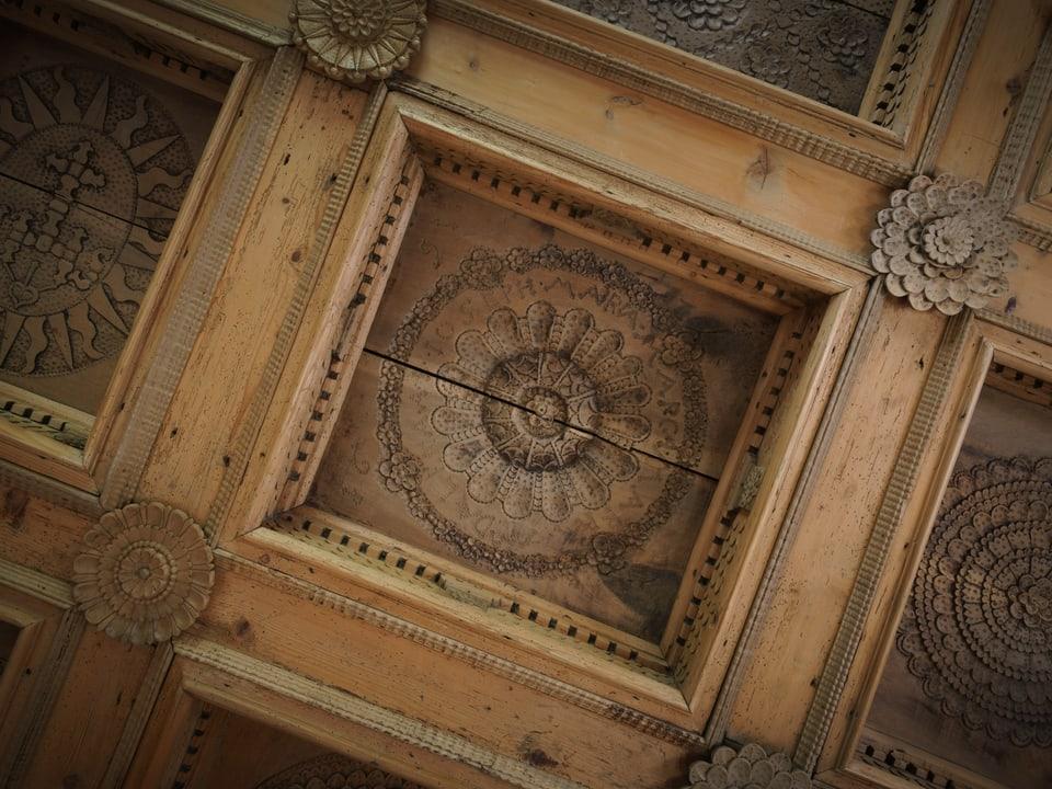 """Plafond da la """"Stiva da Mesocco"""""""