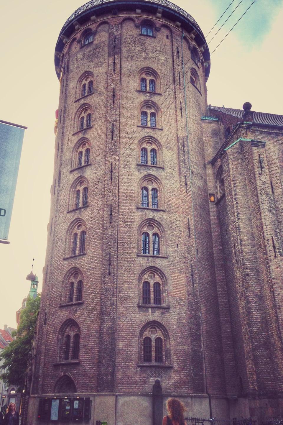 La tur radunda Rundetårn.