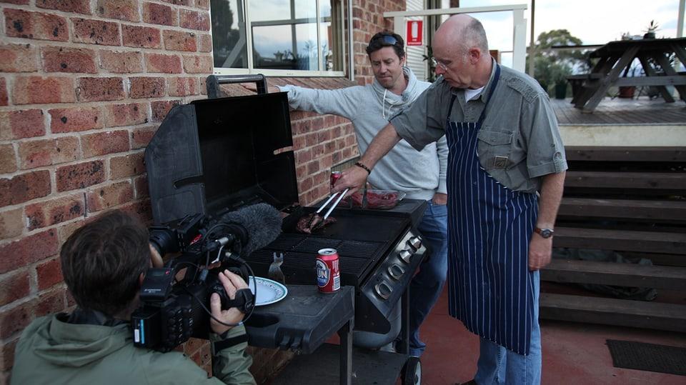 Barbecue mit Urs Wälterlin