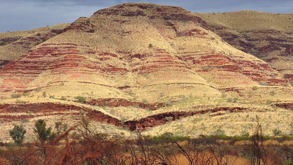 Bergmassiv zwischen Newman und Wittenoom