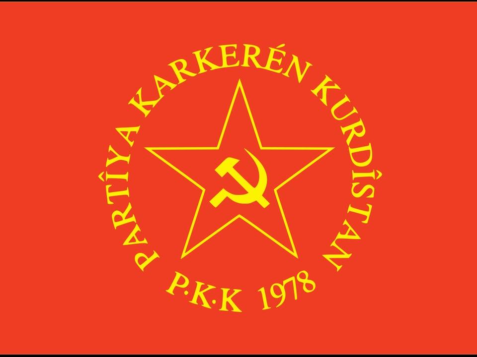 Flagge PKK