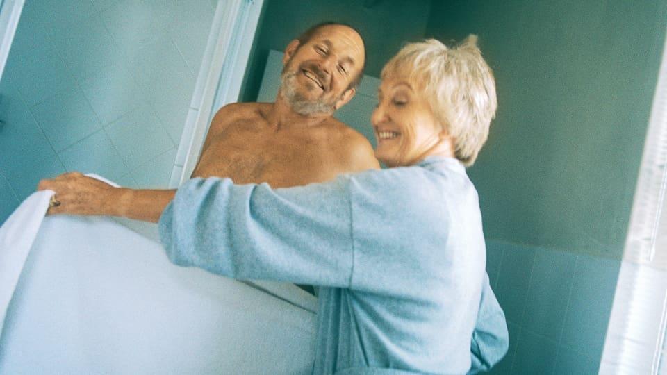 Hygiene — auch im Alter unabdingbar