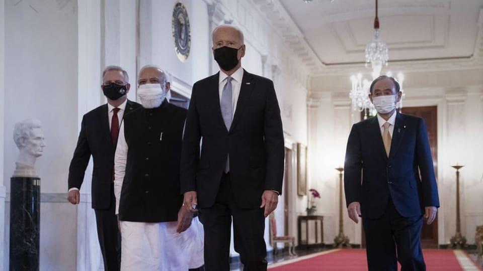 US-Präsident Biden setzt aussenpolitisch auf den Indopazifik
