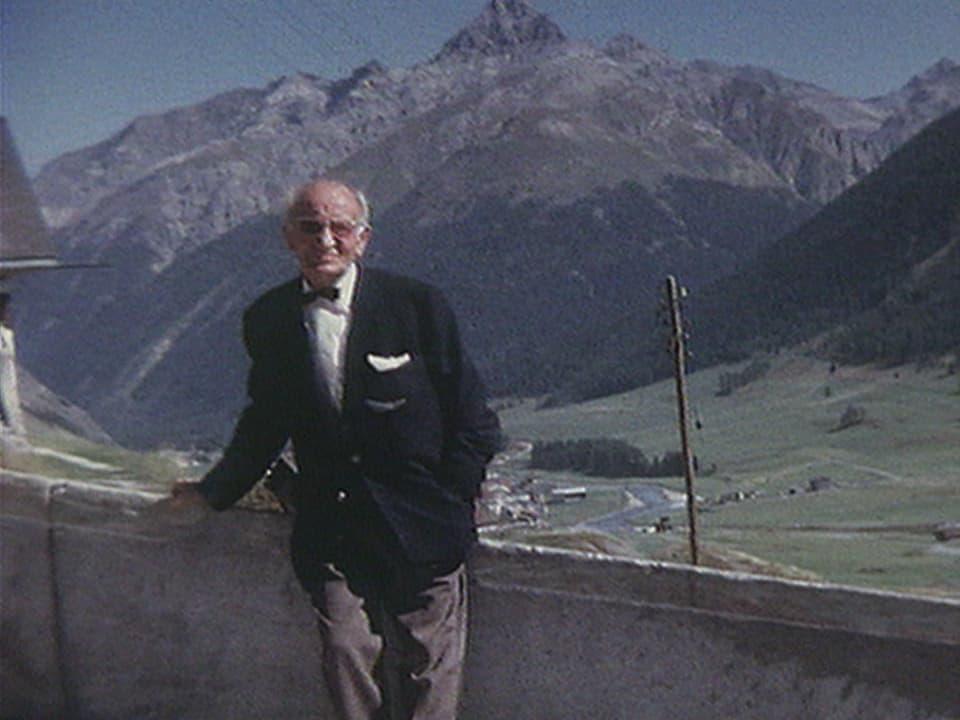 Artur Caflisch (1905 – 1971) en la vegliadetgna avanzada.