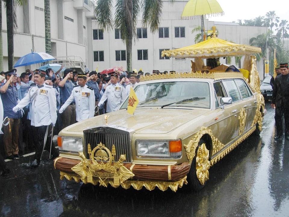 Rolls Royce des Brautpaar von Brunei