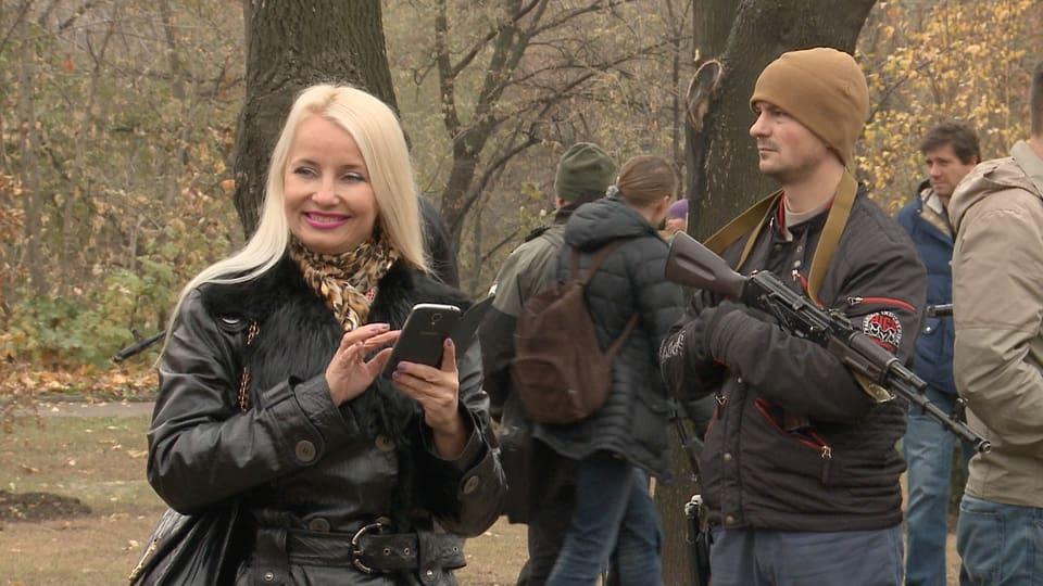 Impression aus Donezk