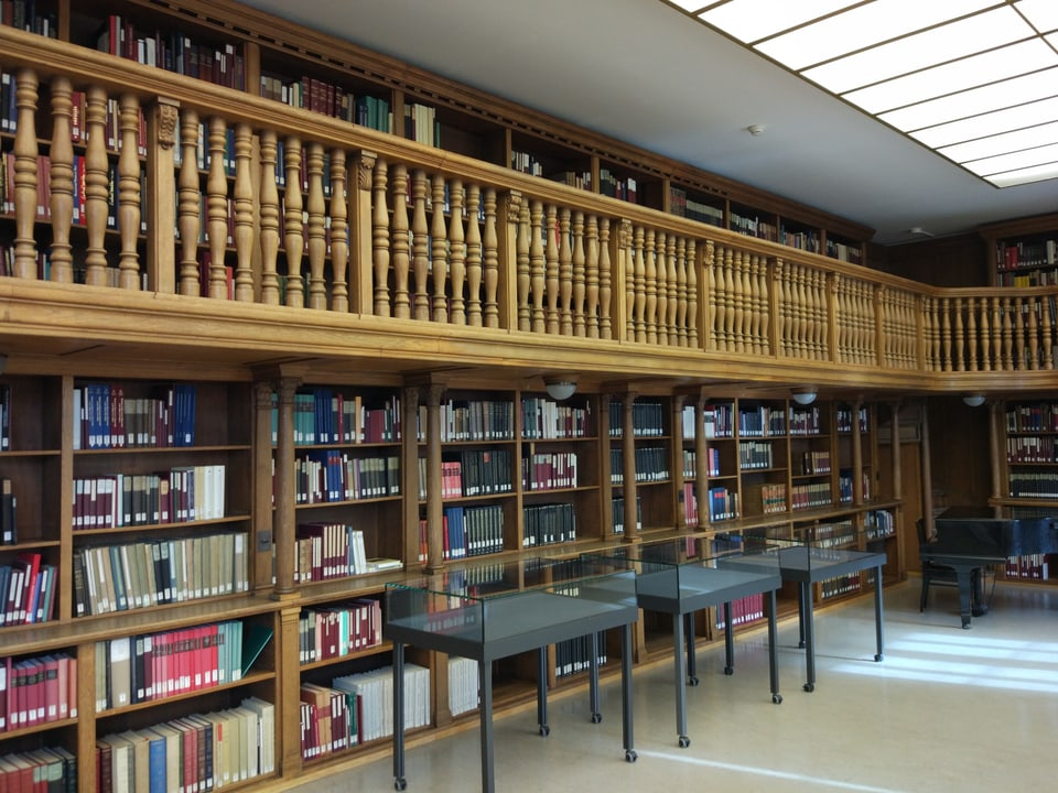 Alter Lesesaal der Zentralbibliothek.