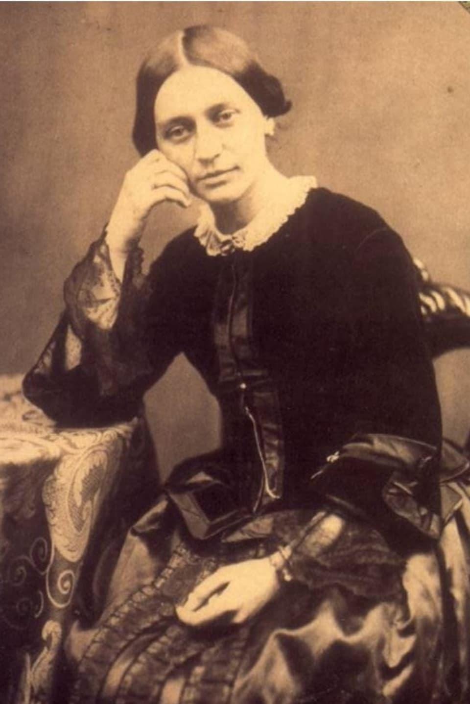 Clara Schumann il 1853 – ses um è en la clinica ed ella è suletta cun 7 affons.