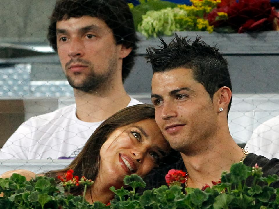Irina Shayk und Cristiano Ronaldo