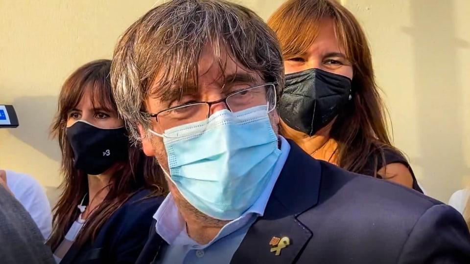 Carles Puigdemont in Sardinien verhaftet und wieder freigelassen