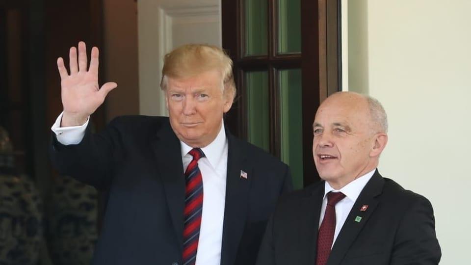 Beziehung Schweiz-USA - «Es besteht grosses Interesse am Handel mit Dienstleistungen»