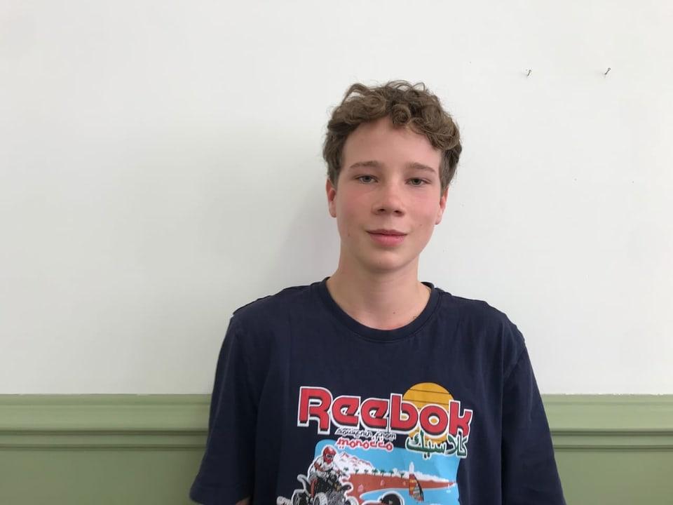 Finn Bucher, 15