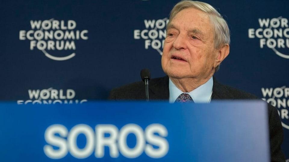 Milliardär Soros warnt am WEF – China als Gefahr für den Westen?