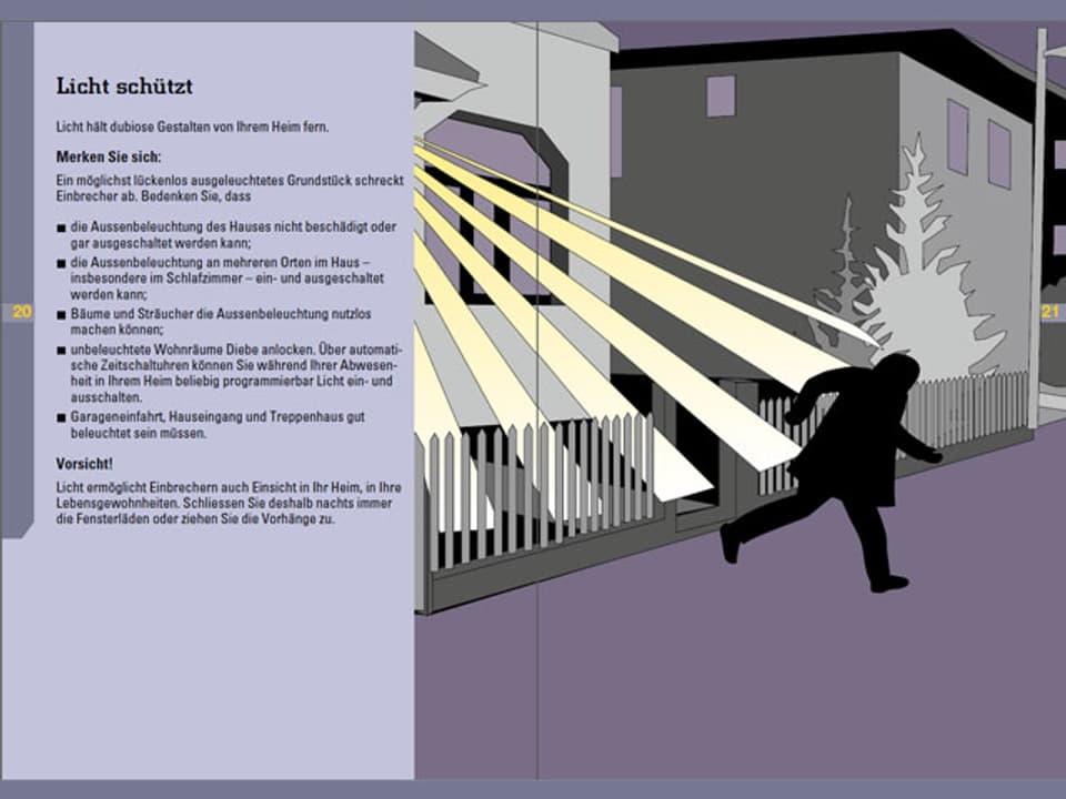 Tipps für das richtige Licht zum Schutz vor Einbrechern