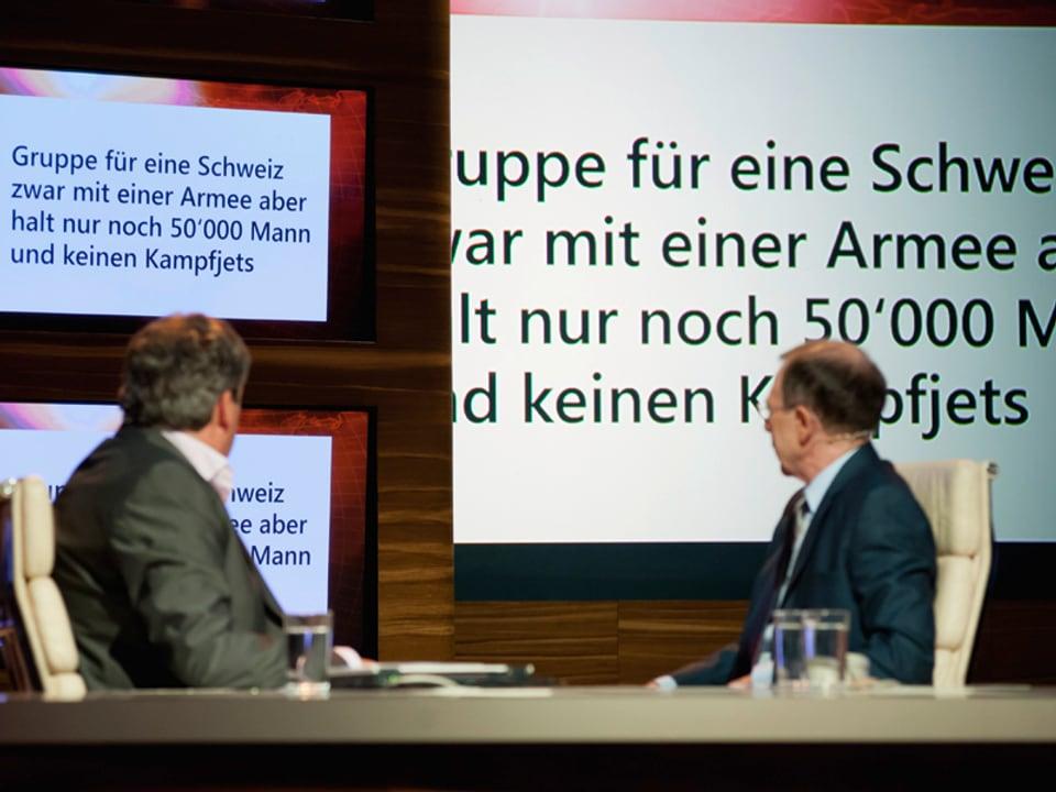 """""""Gruppe für eine Schweiz zwar mit einer Armee aber halt nur noch 50'000 Mann und keinen Kampfjets"""""""