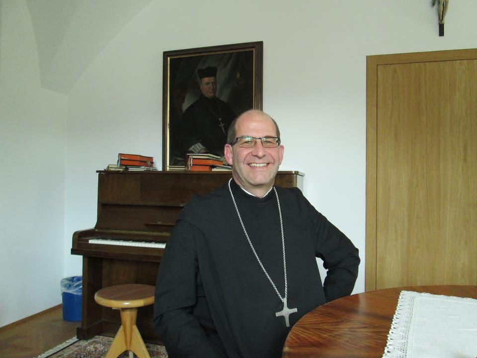 Vigeli Monn: Abt Kloster Disentis