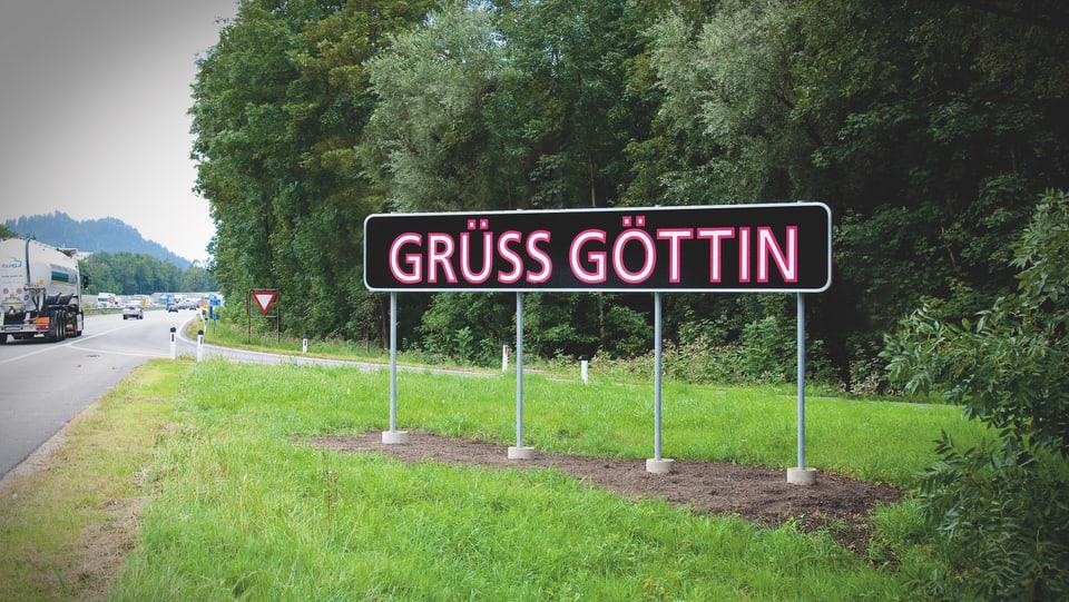 Placat cun Grüss Göttin.