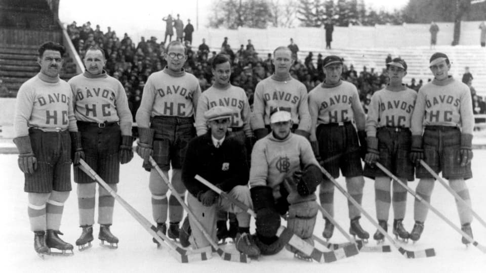 L'equipa dal HCD dal 1933/34
