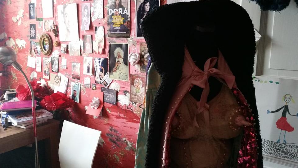 Einblick ins Atelier der Burlesque-Künstlerin.