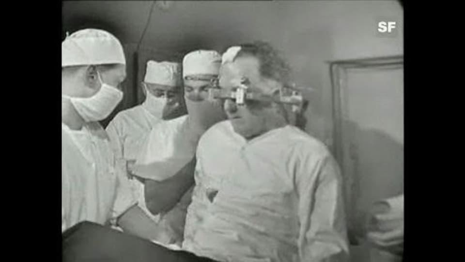 Parkinson-Operation - «Fortschritt der Medizin» vom 8.5.1963
