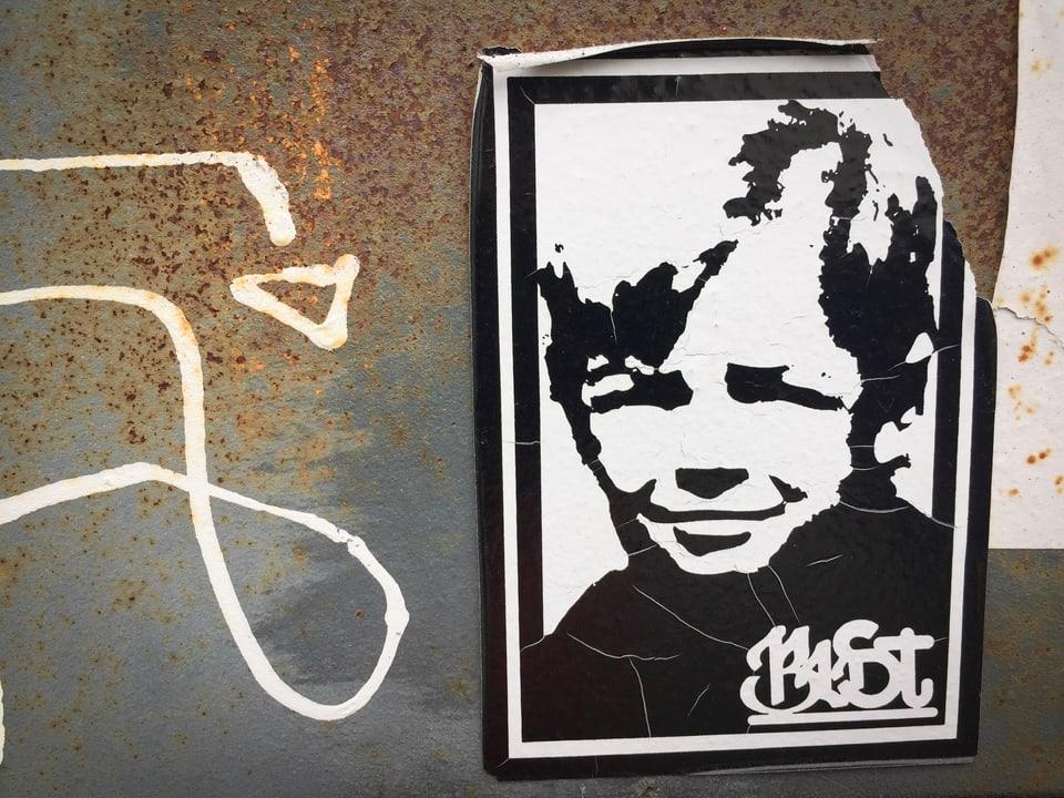 Sein Klassiker: BustArts Bubi-Kopf