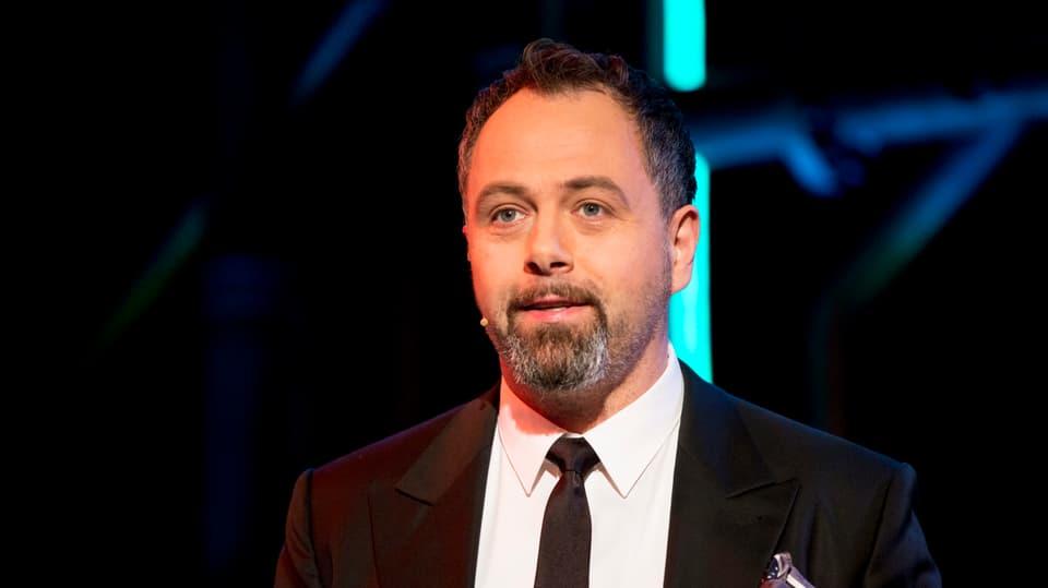 Michel Gammenthaler moderiert die Sendung.