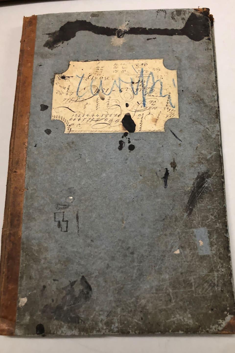 Il cudesch da contabilitad da Johannes Badrutt che cuntegna era copias da brevs e skizzas.