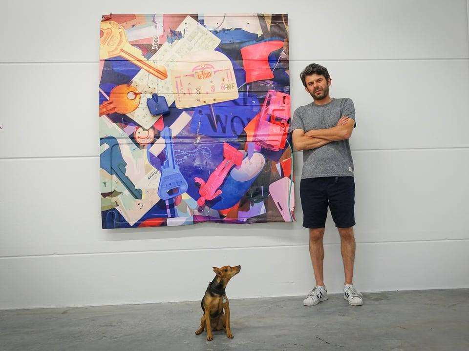 Stefan Winterle in der Colab Gallery